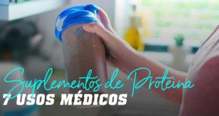 Suplementos proteicos utilizacoes médicas