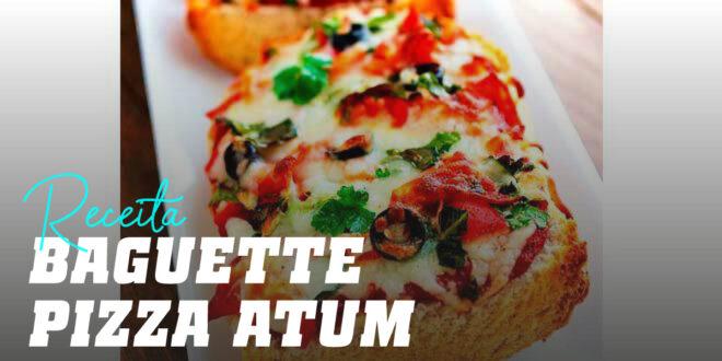 Baguete Pizza de Atum