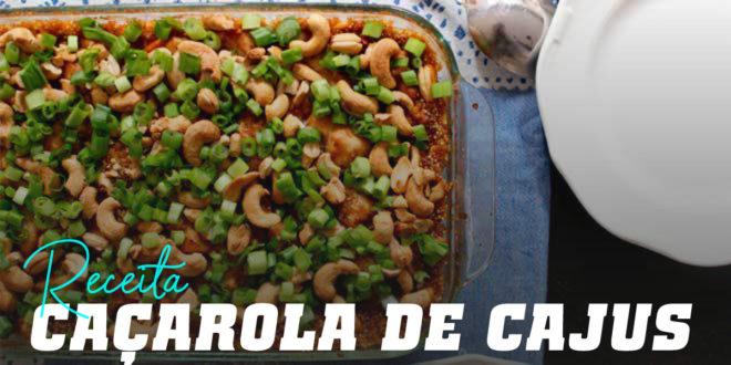 Caçarola de Caju, Frango e Quinoa