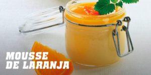 Mousse de laranja