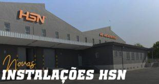 Novas instalações HSN