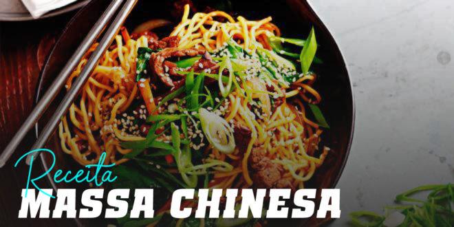 Massa Chinesa com Carne de Vaca e Sésamo