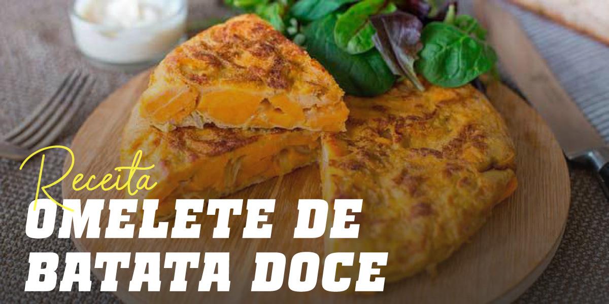 Omelete de Batata Doce