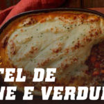 Pastel de carne e verduras
