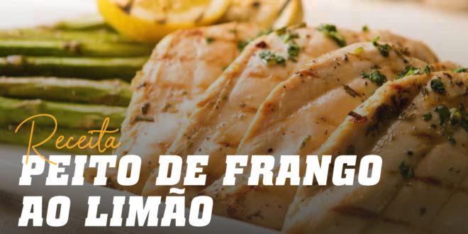 Peito de Frango ao Limão com Espargos