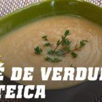 Pure de verduras proteica