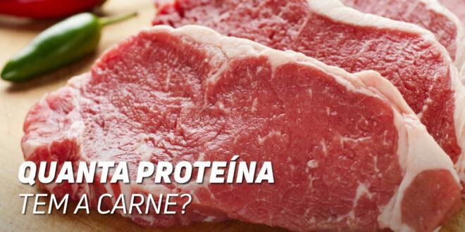 Quanta Proteína contém a Carne de Vaca?