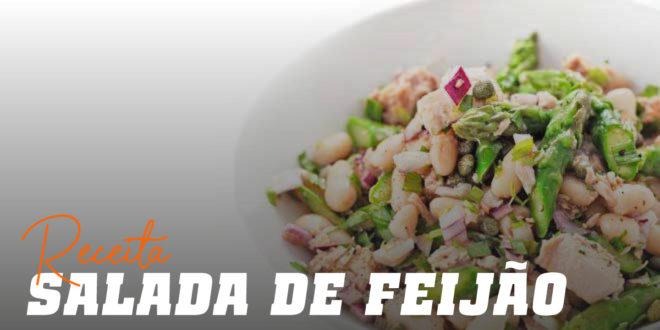 Salada de Feijão, Atum e Espargos