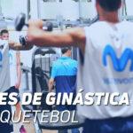 Sessões de Ginástica de Basquetebol