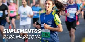 Suplementos para maratona