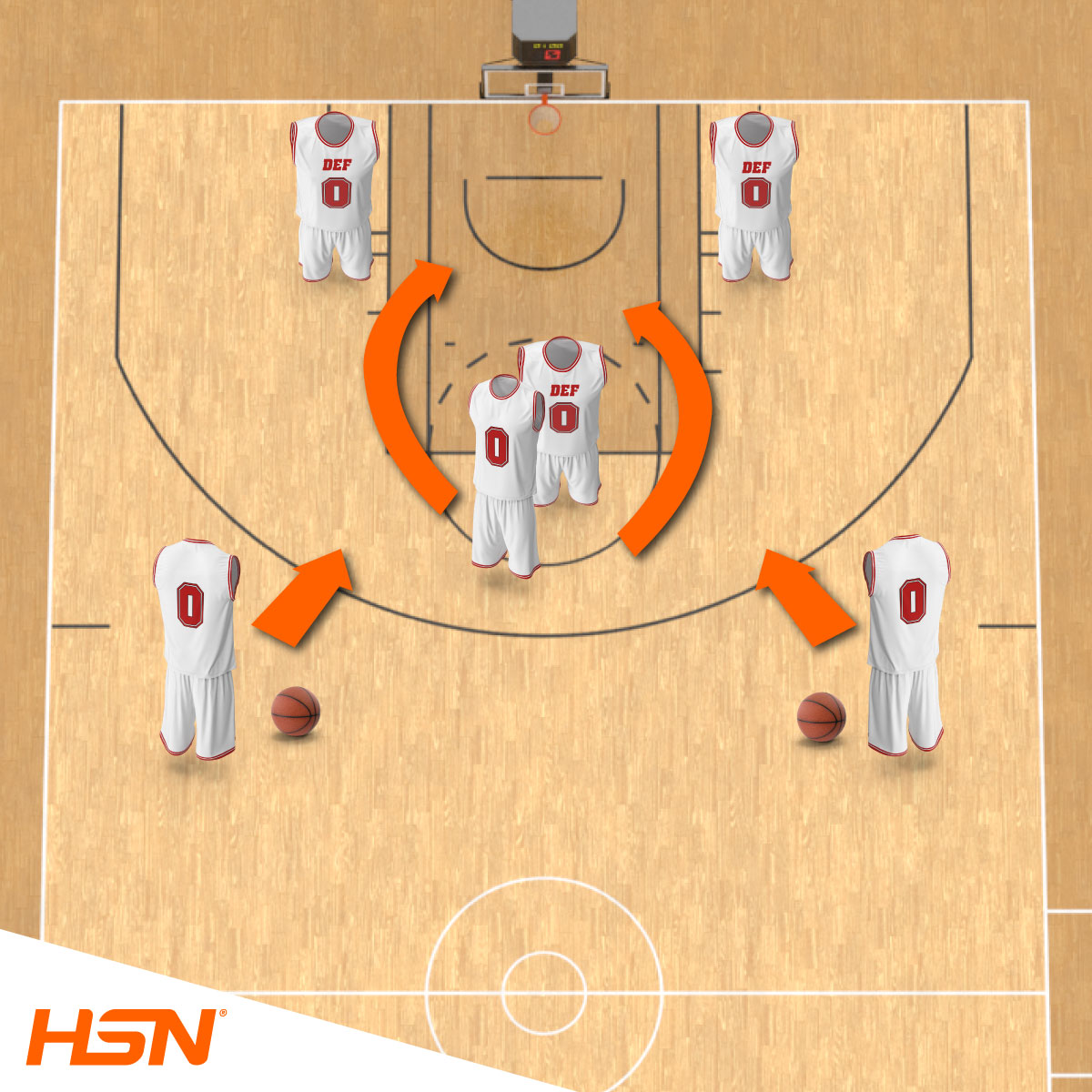 Treino funcional basquetebol poste