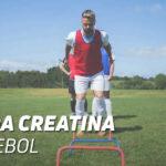 Usos da creatina no futebol