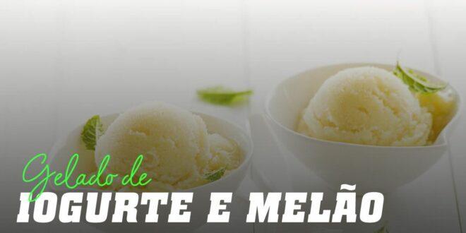 Gelado de Iogurte e Melão
