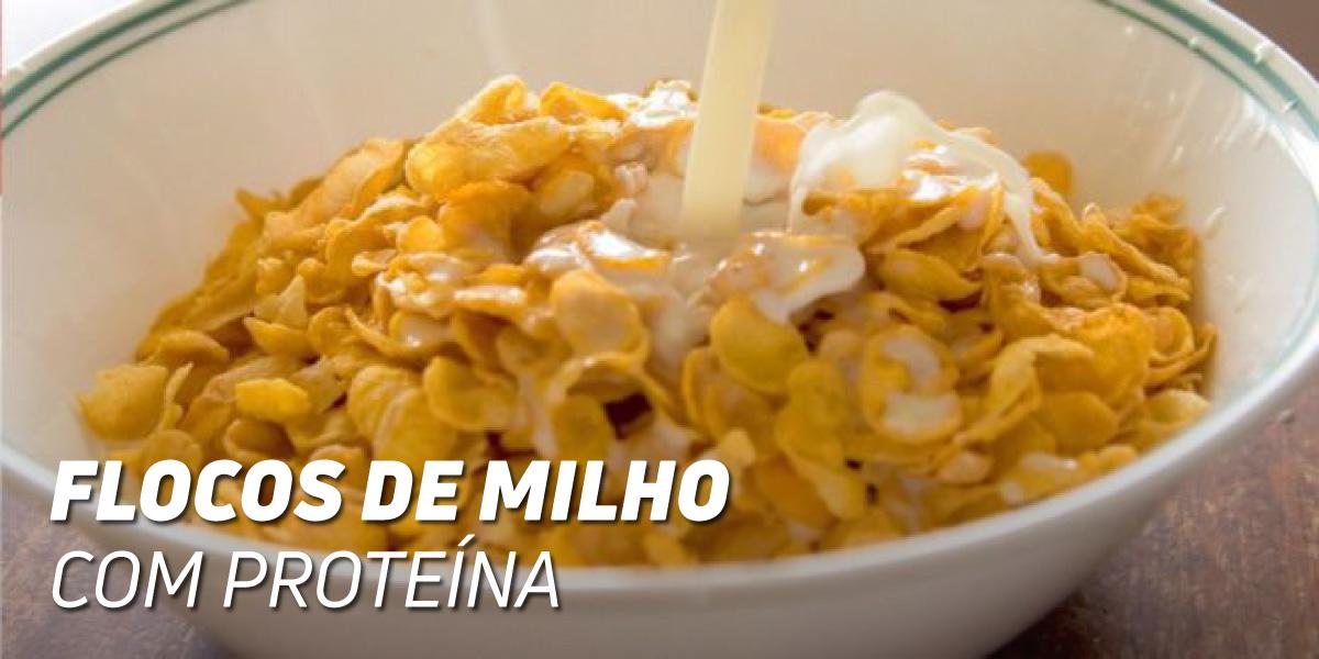 Flocos de Milho com Proteína