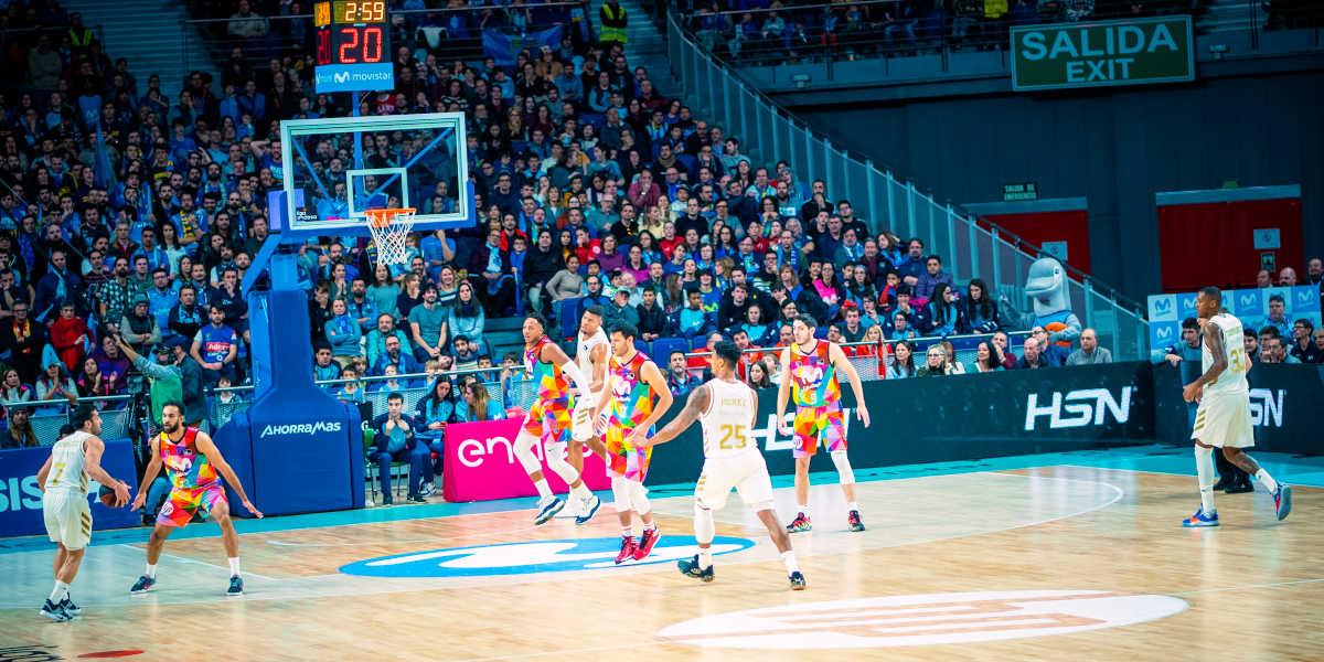 HSN basquetebol Movistar Estudiantes