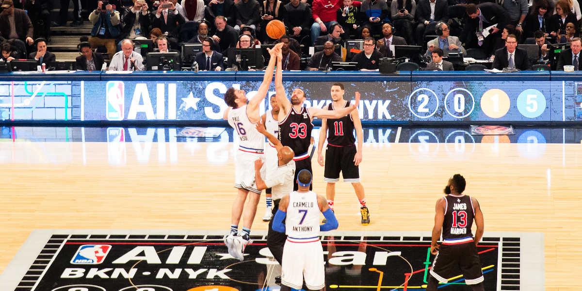Salto nba basquetebol