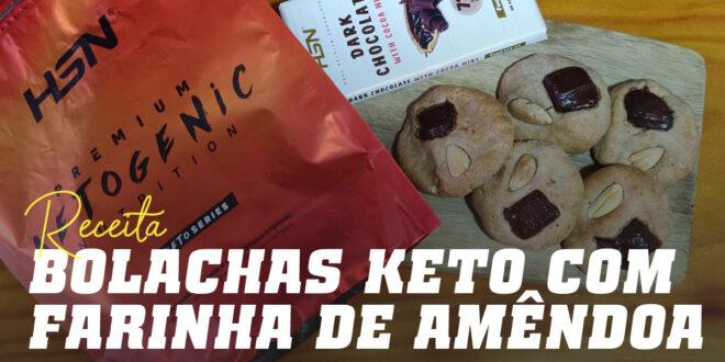Bolachas Keto: Aptas para a Dieta Cetogénica!