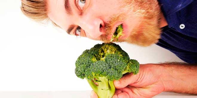 Comer alimentos saudaveis