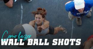 Como fazer wall ball shots?