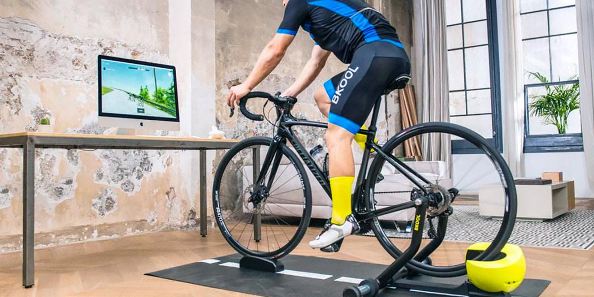 Corrida virtual ciclismo