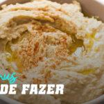 Hummus Fácil de Fazer