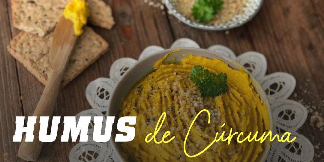 Hummus de Curcuma