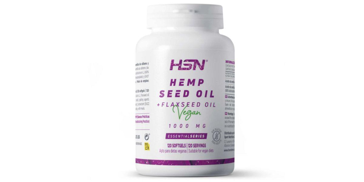 óleo de cânhamo HSN