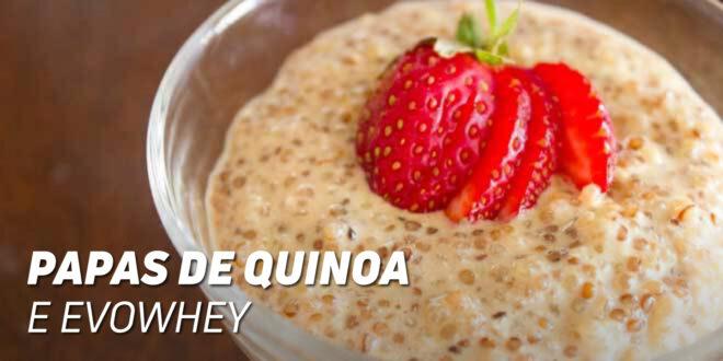 Papa Proteica de Quinoa e Evowhey