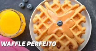 Waffle perfeito