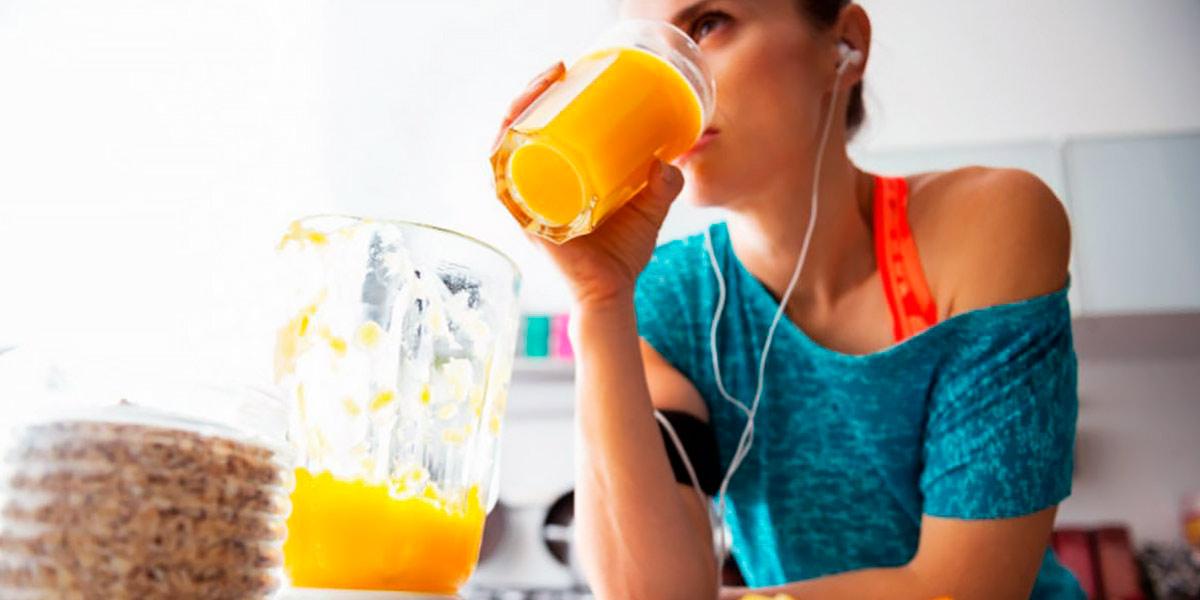 Alimentos de receitas pré-treino