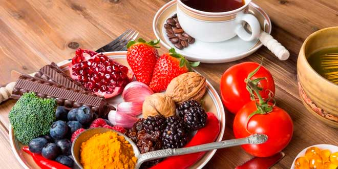 Fontes antioxidantes