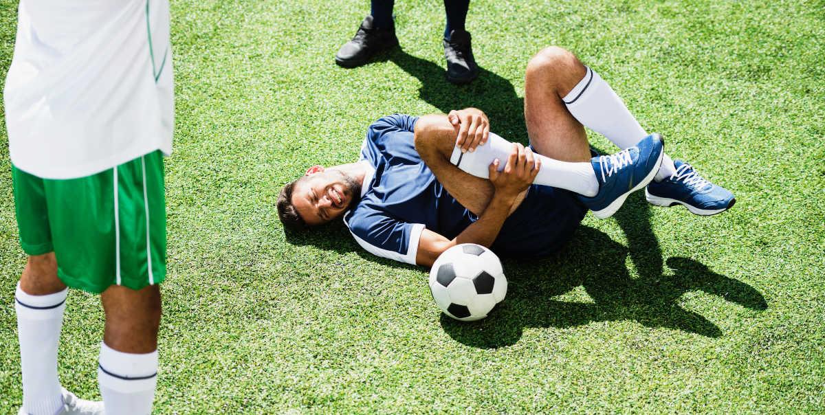 Lesões comuns no futebol
