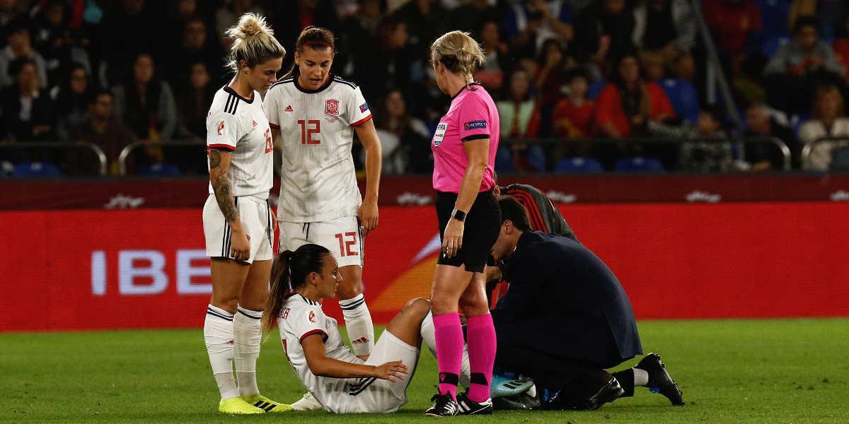 Lesões no futebol feminino