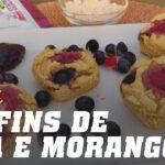 Muffins com Proteína de Soja