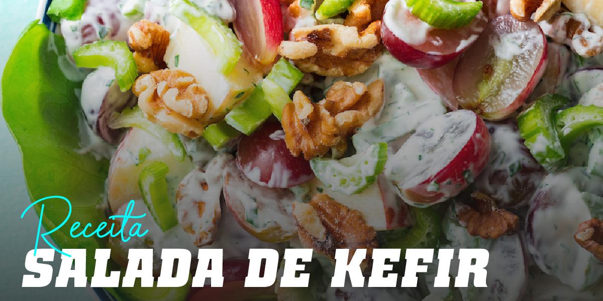 Salada de Tofu, Maçã e Kéfir