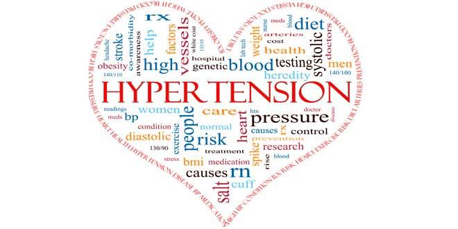 Risco de hipertensão
