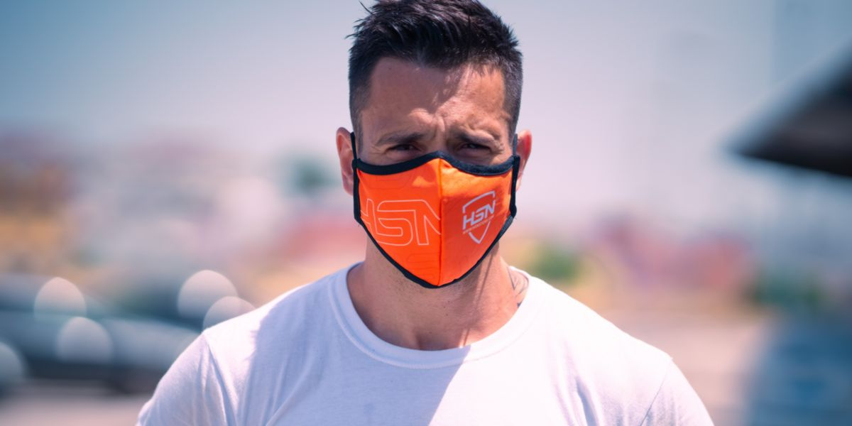Atleta máscara