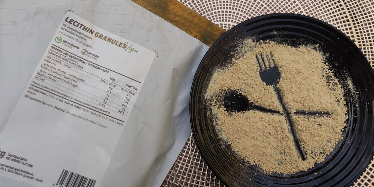 Cozinhar com lecitina de soja