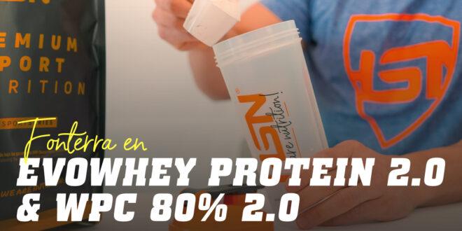Descrição pormenorizada do nosso Evowhey Protein 2.0: WPC 80% – 450 Instant de Fonterra