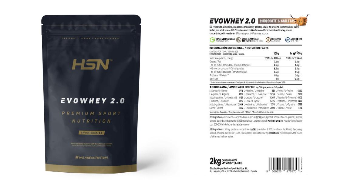 Evowhey protein 20 HSN