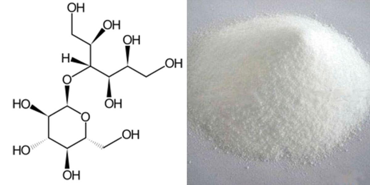 Maltitol estrutura química