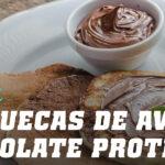 Panquecas de Aveia Chocolate Proteicas