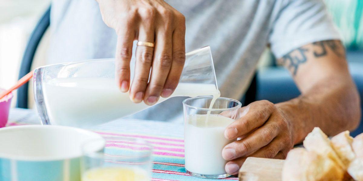 Produtos lácteos pós treino
