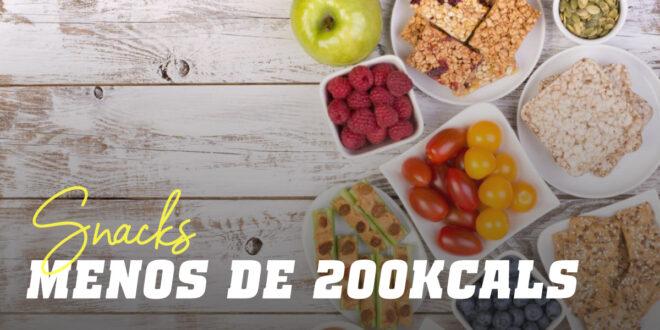 Snacks Saciantes com Menos de 200 Calorias