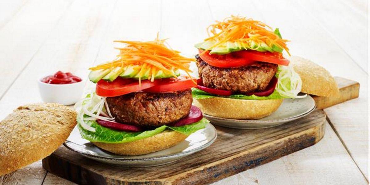 Hambúrguer saudável