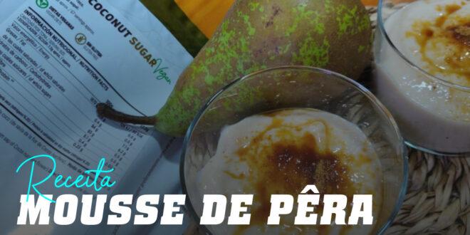 Mousse de Pera com Açúcar de Coco