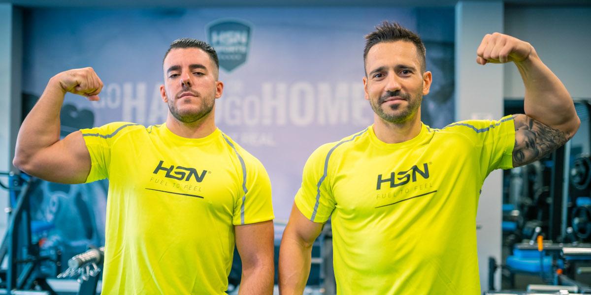 Ángel Real e Javier Colomer, HSN Team