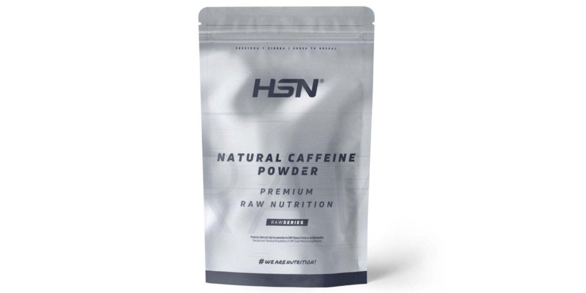 Cafeína em pó desidratada