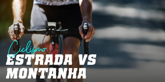 Ciclismo de estrada ou montanha, qual é melhor?
