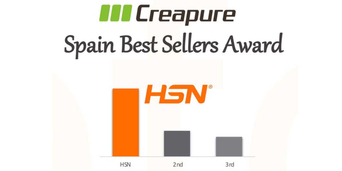 HSN maior volume de vendas do selo Creapure